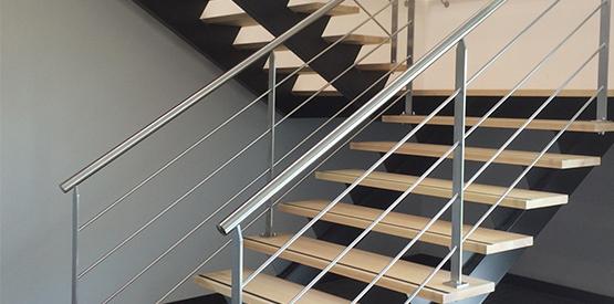 escalier-bois